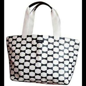 Kate Spade Bow Tie Canvas Cotton Tote Bag